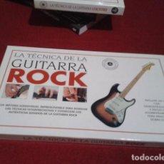 Revistas de música: GUITARRA ROCK MANUAL MÉTODO LIBRO LA TÉCNICA DE LA GUITARRA EDITORIAL RAICES.1995/ 80 PAGINAS +. Lote 196805687