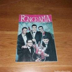 Revistas de música: REVISTA FONORAMA. Nº1 LOS RELÁMPAGOS, REEDICIÓN. Lote 197255152