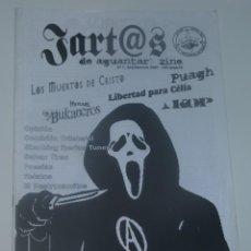 Revistas de música: JARTOS DE AGUANTAR Nº7 - LOS MUERTOS DE CRISTO - PUAGH - KOP - .... Lote 197968257