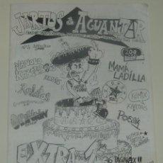 Revistas de música: JARTOS DE AGUANTAR Nº5 - MAMA LADILLA - MANOLO KABEZABOLO .... Lote 197968293