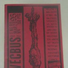 Revistas de música: VECBUS Nº4 - YELLOW FINN - GOTHIC SEX - PARALITIKOS - LAGARTIJA NICK .... Lote 197968326