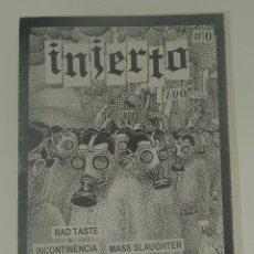 Revistas de música: INJERTO Nº0 - BAD TASTE - INCONTINENCIA - MANIFESTO - E-150 - ESCUELA DE ODIO .... Lote 197968400