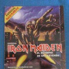 Revistas de música: ROCK SOUND ESPECIAL IRON MAIDEN. 2000. Lote 198249122