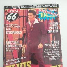 Riviste di musica: RUTA 66 Nº 185 ELVIS PRESLEY, PATTI SMITH, LOS ENEMIGOS, ARETHA FRANKLIN, RADIOHEAD, NICK FARREN. Lote 198421847