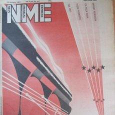 Revistas de música: REVISTA NEW MUSICAL EXPRESS 10 JANUARY 1981 TRANS EUROPE EXPRESS STEVE WINWOOD. Lote 198511565