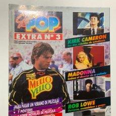 Revistas de música: REVISTA SUPER POP SUPERPOP EXTRA Nº 3 MADONNA TOM CRUISE MICHAEL J FOX. Lote 198552328