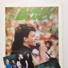 Revistas de música: U2 BANDERA BLANCA - FANZINE N. 6 - AÑO 1990. Lote 198553926