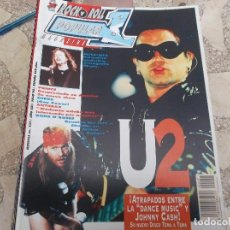Riviste di musica: POPULAR 1 N. 237. METALLICA. U2. PRINCE. ANTHRAX. GUNS N'ROSES. LEMONHEADS. SUEDE. GARY GLITTER. JEL. Lote 198885482
