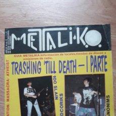 Revistas de música: METALIKO 40. Lote 199187646