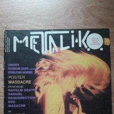 Riviste di musica: METALIKO 59 FANZINE ESPAÑOL. Lote 199197571