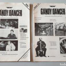 Revistas de música: LOTE 2 REVISTAS NEW GANDY DANCER N°16 Y 21 - THE MAGAZINE FOR INSTRUMENTAL ROCK MUSIC. Lote 199632526