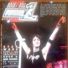 Revistas de música: POPULAR 1. NO. 309. THE BLACK CROWES, STAR WARS. Lote 200012516