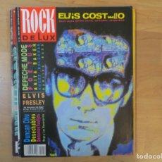 Magazines de musique: ROCK DE LUX:N.52-ELVIS COSTELLO-DEPECHE MODE-DOGO MERCENARIOS-ELVIS PRESLEY. Lote 200162782