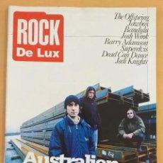 Revistas de música: ROCK DE LUX NUM 138. AUSTRALIAN BLONDE, OFFSPRING, JAWBOX, DEAD CAN DANCE, SUPERELVIS, BANDULU. Lote 201523410