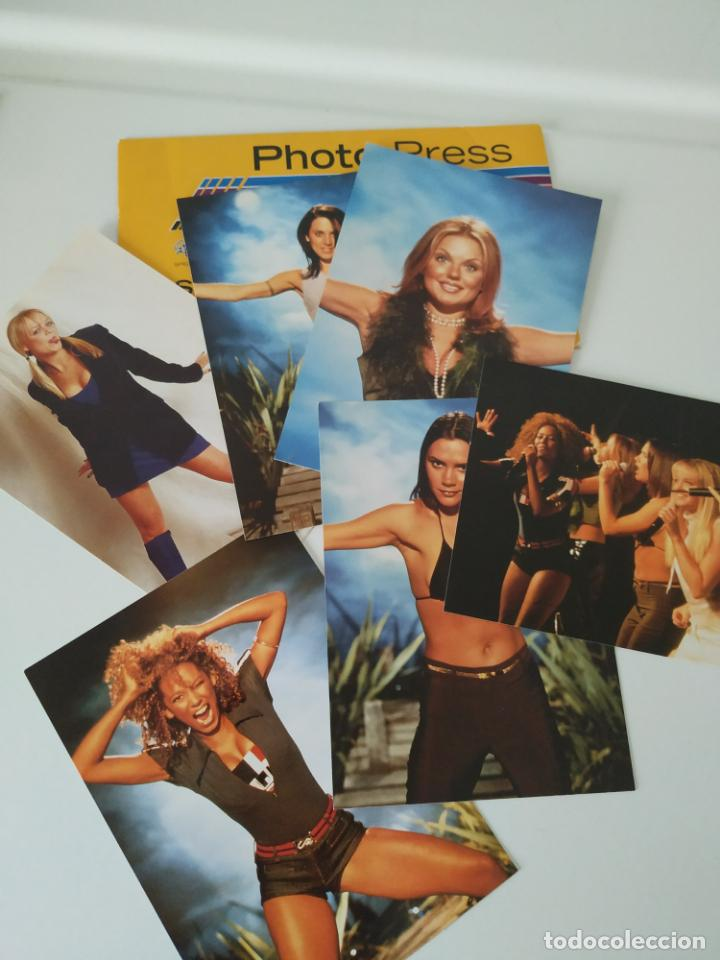 Revistas de música: Especial Spice Girls. Super Pop 494, 495, 496, 497, 498, fotos, álbum, pegatinas, póster, carpeta.97 - Foto 5 - 201685358
