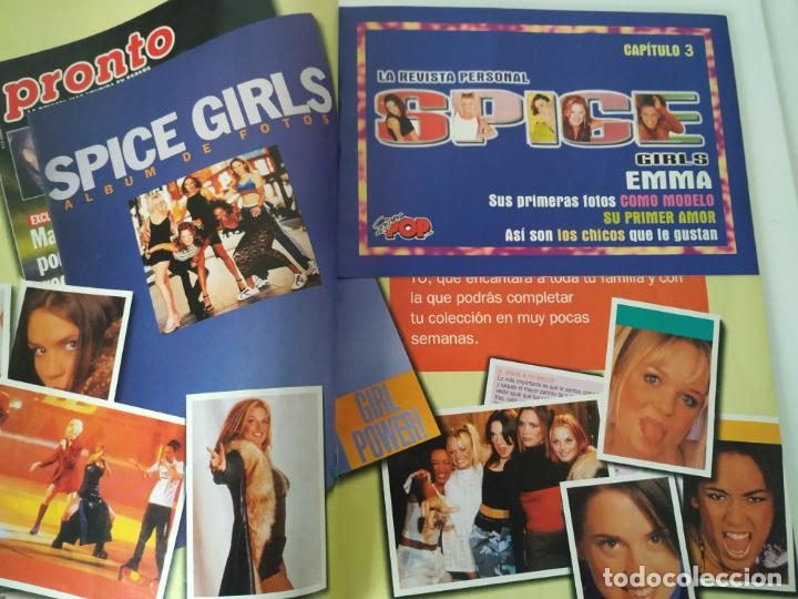 Revistas de música: Especial Spice Girls. Super Pop 494, 495, 496, 497, 498, fotos, álbum, pegatinas, póster, carpeta.97 - Foto 10 - 201685358