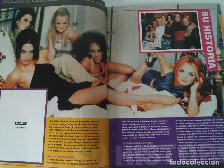 Revistas de música: Especial Spice Girls. Super Pop 494, 495, 496, 497, 498, fotos, álbum, pegatinas, póster, carpeta.97 - Foto 13 - 201685358