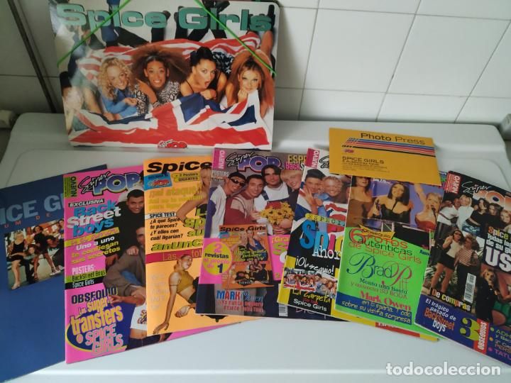 Revistas de música: Especial Spice Girls. Super Pop 494, 495, 496, 497, 498, fotos, álbum, pegatinas, póster, carpeta.97 - Foto 1 - 201685358