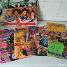 Revistas de música: ESPECIAL SPICE GIRLS. SUPER POP 494, 495, 496, 497, 498, FOTOS, ÁLBUM, PEGATINAS, PÓSTER, CARPETA.97. Lote 201685358