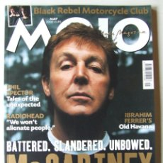 Revistas de música: MOJO 114 BEATLES PAUL MCCARTNEY SOLOMON BURKE PHIL SPECTOR YOKO ONO MADONNA THE WHO . Lote 201760727