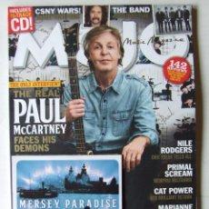 Revistas de música: MOJO 299 BEATLES PAUL MCCARTNEY JOE STRUMMER THE CLASH TOM PETTY NILE RODGERS MARIANNE FAITHFULL +CD. Lote 201763410
