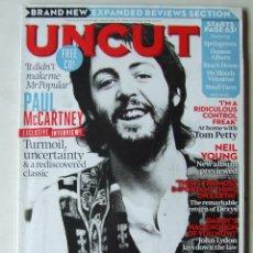 Revistas de música: UNCUT 181 BEATLES PAUL MCCARTNEY BOB SEGER TOM PETTY NICK CAVE BRUCE SPRINGSTEEN . Lote 201765316