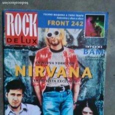 Revistas de música: ROCK DE LUX NUM 102. NIRVANA. FRONT 242. BABES IN TOYLAND, JOHN HIATT, FISHBONE.. Lote 202451588