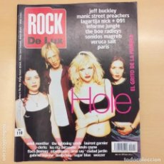 Revistas de música: ROCK DE LUX NUM 118 HOLE JEFF BUCKLEY MANIC STREET PREACHERS LAGARTIJA NICK 091 BOO RADLEYS. Lote 202570975