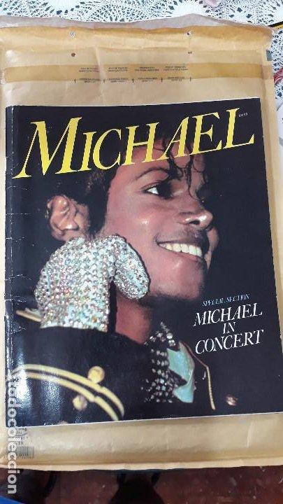 MICHAEL JACKSON- PROGRAMA CONCIERTO- IN CONCERT- (Música - Revistas, Manuales y Cursos)