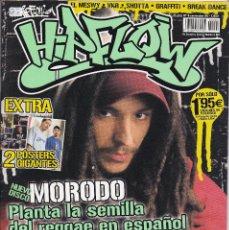 Revistas de música: 2 REVISTAS HIP FLOW, SOBRE EL HIP HOP, NUMEROS 4 Y 5. AÑO 2004.. Lote 202777393