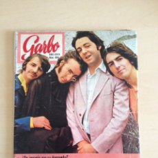 Revistas de música: BEATLES - GARBO NUM. 894. Lote 202810537