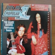 Revistas de música: POPULAR 1 257. DANZIG. BELLY. BLACK CROWES, SLAYER, ELASTICA, PRONG, CINDARELLA.. Lote 202983391