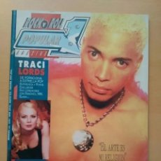 Revistas de música: POPULAR 1 NUM 259 TRACI LORDS, TERENCE TREND D´ARBY, SKID ROW, WHITE ZOMBIE, CRAMPS.. Lote 203048391