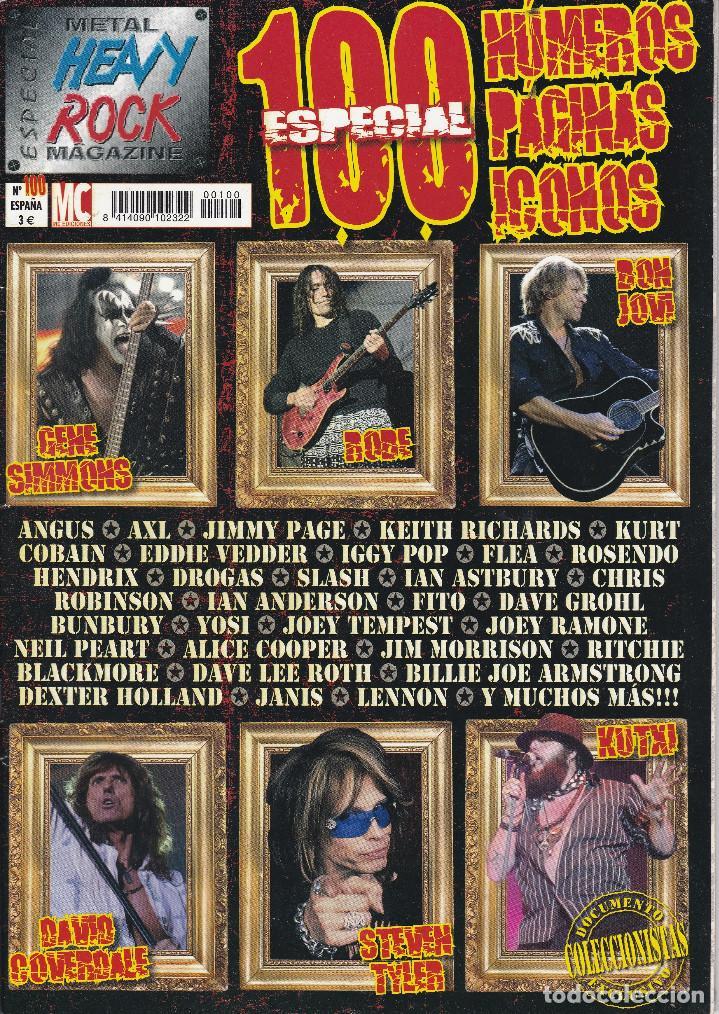 2 REVISTA ESPECIAL METAL HEAVY ROCK MAGAZINE (Música - Revistas, Manuales y Cursos)