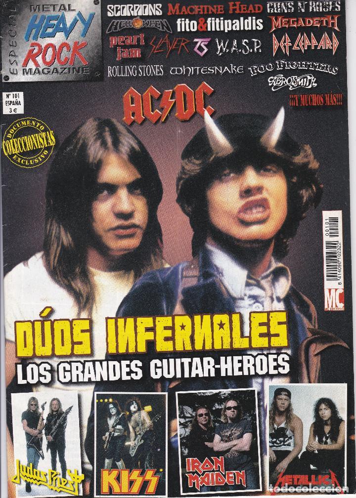 Revistas de música: 2 REVISTA ESPECIAL METAL HEAVY ROCK MAGAZINE - Foto 2 - 203050210