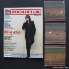 Revistas de música: ROCKDELUX 236 ESPECIAL 2005 (ENERO 2006) + 3 CDS (MOMENTOS 2005, VOLUMEN I, II Y III). Lote 203380255