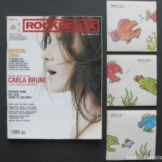 Revistas de música: ROCKDELUX 247 ESPECIAL 2006 (ENERO 2007) + 3 CDS (MOMENTOS 2006, INTERNACIONALES/NACIONALES). Lote 203381997