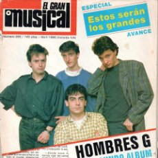 Revistas de música: EL GRAN MUSICAL 266 ABRIL 1986 (HOMBRES G PET SHOP BOYS THE CURE 091 WHITNEY HOUSTON MODERN TALKING). Lote 203635716