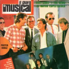 Revistas de música: EL GRAN MUSICAL 276 FEBRERO 1987 MICHAEL JACKSON-THE BEATLES-EUROPE-ELTON JOHN-MODERN TALKING-OBUS. Lote 203640056