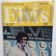 Revistas de música: ALWAYS 100% ELVIS - 26TH YEAR - NO 307 - AUGUST 1985. Lote 203841988