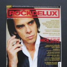 Revistas de música: ROCKDELUX 315 – MARZO 2013 – NICK CAVE – ENTREVISTA A DIEGO MANRIQUE. Lote 203951541