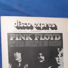 Magazines de musique: ANTIGUA REVISTA DISCO EXPRES NÚMERO 229 PORTADA DE PINK FLOYD. Lote 203973752