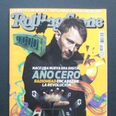 Revistas de música: ROLLING STONE 97 (NOVIEMBRE 2007) – BRITNEY SPEARS – RADIOHEAD – MADONNA. Lote 204012655