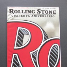 Revistas de música: ROLLING STONE 98 – CUARENTA ANIVERSARIO – NÚMERO DE COLECCIONISTA – BRUCE SPRINGSTEEN – MICK JAGGER. Lote 204022571