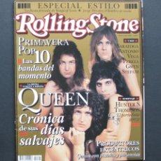 Revistas de música: ROLLING STONE 66 – QUEEN. CRÓNICA DE SUS DÍAS SALVAJES. Lote 204054471