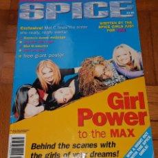 Revistas de música: RARA REVISTA EN INGLÉS OFFICIAL GIRL POWER MAGAZINE SPICE GIRLS ISSUE 3. Lote 204649712