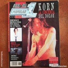 Revistas de música: POPULAR 1 NUM 228 HENRY ROLLINS KORN BECK NUNO ALICE COOPER RUSH FUN LOVIN CRIMINALS. Lote 205028405