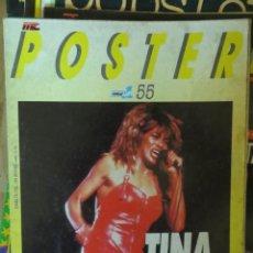 Riviste di musica: POSTER: N.55 - TINA TURNER !!!!!! (SPANISH MAGAZINE) POPULAR 1. Lote 252247740