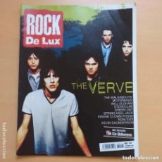 Revistas de música: ROCK DE LUX NUM 147. VERVE WALKABOUTS MOTORBASS WILL OLDHAM STEREOLAB GREEN DAY RONI SIZE. Lote 205296491