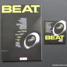 Revistas de música: BEAT 42 – DERRICK MAY – MALA RODRÍGUEZ – WAGON COOKIN' – MENTAL GROOVE + CD. Lote 205328617